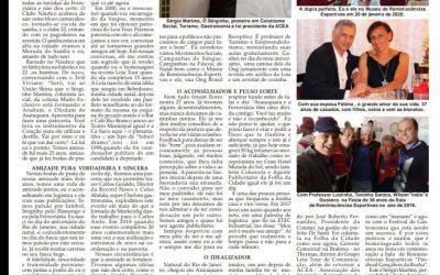 Página 6,As Personalidade ,Folha da Cidade de Araraquara,Domingo  21/06/2020!
