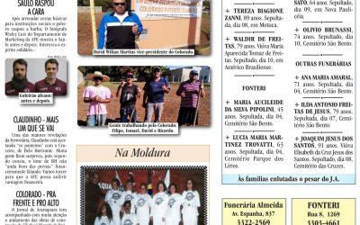 ESPORTES – JORNAL DE ARARAQUARA – 11/07/2020!