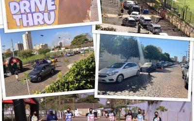 Drive Thu especial Férias + Divertidas em casa do Clube Araraquarense.Araraquara News!