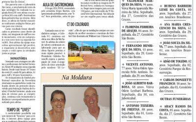 ESPORTES- 04/07/2020!JORNAL DE ARARAQUARA!