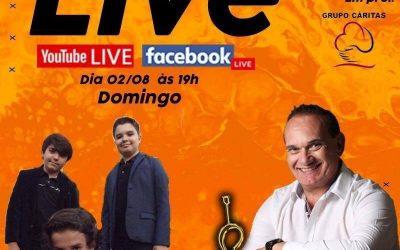 Saiba tudo sobre a LIVE do cantor Emlio Carlos e a banda Legends Of Rock, neste Domingo no Clube Araraquarense!
