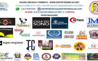 Reminiscencias Esportivas de 14/08/2020 – Sexta-feira na Folha da Cidade de Araraquara!