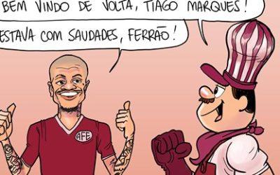 Tiago Marques está de volta para reforçar a Ferroviária!Arararaquara News 14/08/2020!