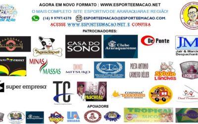 Reminiscencias Esportivas de 07/08/2020 – Sexta – feira na Folha da Cidade de Araraquara!