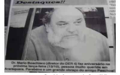 Reminiscências Esportivas de 25/11/2020 – Quarta – feira , na Folha da Cidade de Araraquara!
