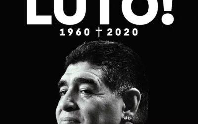 Luto por Maradona!